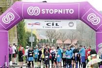 Aprílová půlka - běžecký závod ve Starém Bydžově.