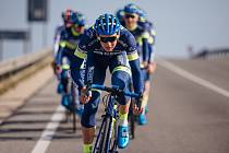 Ještě před startem letošní závodní sezony se Jakub Otruba připravovals celým hradeckým týmem Elkov Kasper ve španělském Calpe.