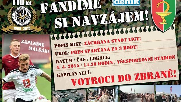 """Před fotbalovým duelem FC Hradec - Sparta Praha: """"Votroci"""", do zbraně!"""