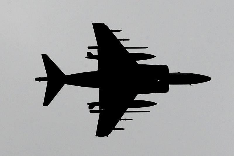 Na přistávací dráhu hradeckého letiště přistálo 3. září trio britských stíhaček Harrier. Tyto stíhačky budou patřit k největším lákadlům letošní letecké přehlídky Czech International Air Fest (CIAF), která se uskuteční od 5.-9. září 2009.
