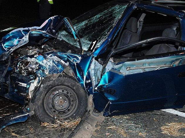 Nehoda u Podhořan na Chrudimsku, 5. listopadu 2010.