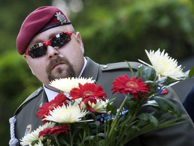 Poslední rozloučení s desátníkem Janem Šenkýřem, jedním z pěti českých vojáků, které zabil sebevražedný atentátník v Afghánistánu, v královéhradeckých Kuklenách.