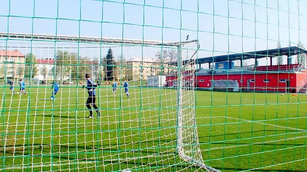 Otevření sportovního areálu Slavie Hradec Králové.