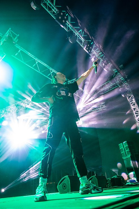 Z festivalu Rock for People: Tommy Cash.