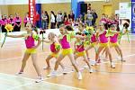 Celorepubliková soutěž v pódiových skladbách v aerobiku s názvem Bohemia aerobic tour v hradecké hale Třebeš.