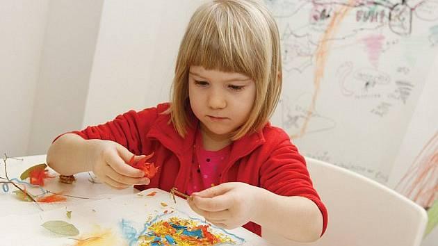 Dílna pro děti v hradecké Galerii moderního umění