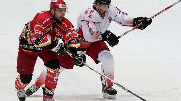 Hokej, 1. liga: Hradec Králové - Olomouc. (Sobota 20. listopadu 2010)