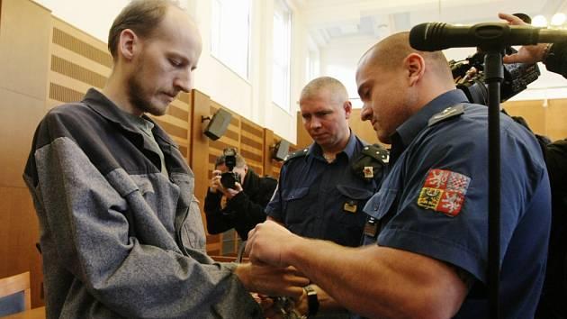 Daniel Halbrštát u Krajského soudu v Hradci Králové.