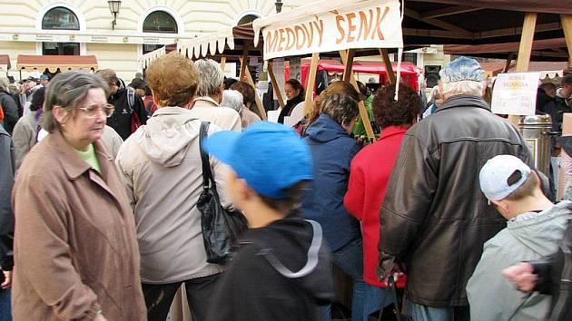 Farmářské trhy v Hradci Králové. (Sobota 9. října 2010).