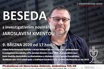 Beseda s Jaroslavem Kmentou