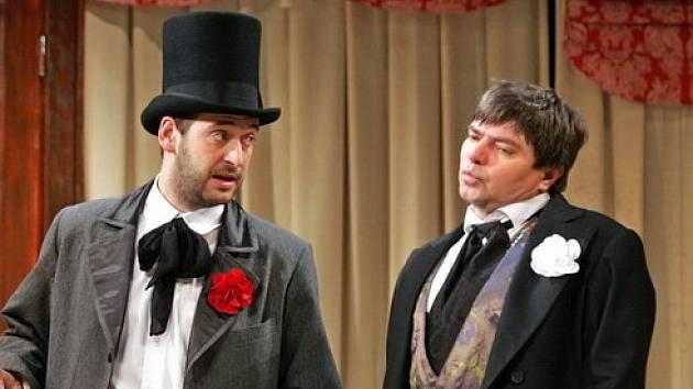 Divadelní komedie Brouk v hlavě.