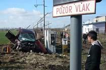SDH Smiřice: Ze zásahu u nehody.
