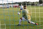 Utkání ve Vrchlabí rozhodoval penaltový rozstřel.