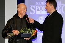 Z vyhlášení ankety Nejúspěšnější sportovec roku 2011 města Hradec Králové.