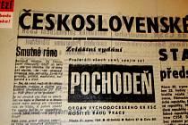 Výstava Srpen 1968 v dokumentech doby byla otevřena symbolicky 20. srpna ve 23.15 hodin, právě v tu dobu, kdy před 40 lety vstoupila první okupační vojska na území Československa
