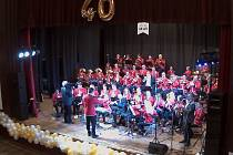 Dechový orchestr Chlumec nad Cidlinou.