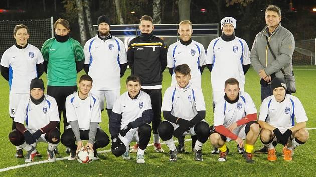 Fotbalisté TJ Sokol Třebeš B.