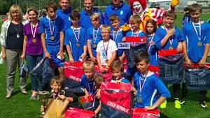 PŘEKVAPENÍ. Tým ZŠ Uhlířské Janovice se v minulém ročníku McDonald's Cupu dostal do finálového turnaje.