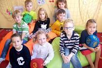 Základní škola Nepolisy - žáci 1. třídy.