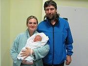 NATÁLIE VALÁŠKOVÁ přišla na svět 5. listopadu v 8.58 hodin. Měřila 49 cm a vážila 3100 g. Velkou radost udělala rodičům Ludmile a Pavlovi Valáškovým z Lochenic.