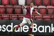 Rudolf Skácel, hráč skotského týmu Heart of Midlothian