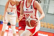 V reprezentaci už Michaela Matušková jednou byla, teď je v týmu ČR podruhé.