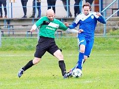 Okresní fotbalová CK Votrok 3. třída: Syrovátka - Starý Bydžov.