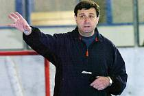 Pavel Pazourek, trenér hokejistů HC VCES Hradec Králové