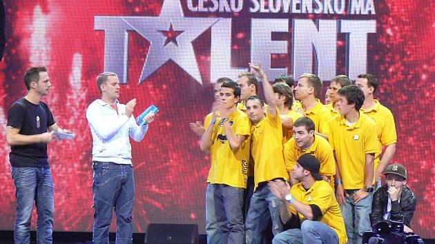 Odnož T–BASS Křečkovi muži v soutěži Česko Slovensko má talent.