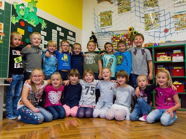 Masarykova jubilejní základní škola, Černilov - žáci třídy 1.B.