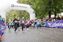 Běžecká RunTour v Hradci Králové.
