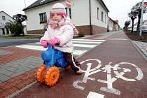 Cyklostezka se zamlouvá i nejmenším.