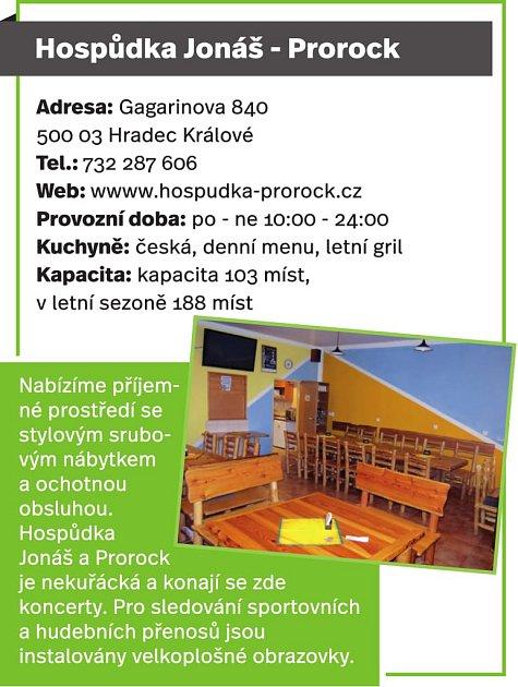 Hospůdka Jonáš - Prorock, Hradec Králové