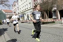 Běžecký maraton juniorů v Hradci Králové.