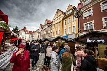 Vánoční trhy na Masarykově náměstí v Hradci Králové