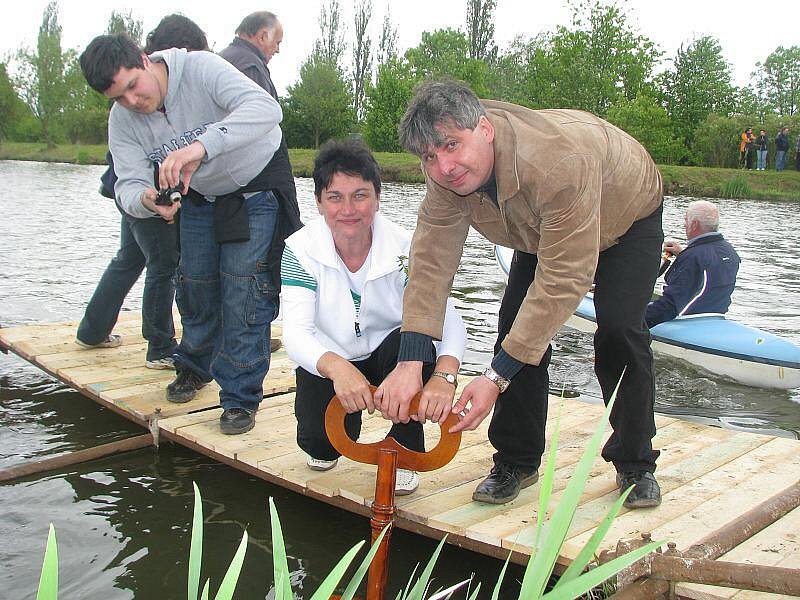 Řeka Javorka byla symbolicky odemčena pro vodáky v sobotu 15. května 2010.