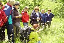 Přírodovědná exkurze s názvem Odpoledne vhradecké přírodě.