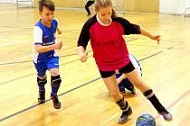 SportFotbal halový okresní přebor starších přípravek.