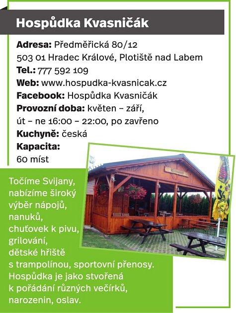 Hospůdka Kvasničák, Plotiště nad Labem