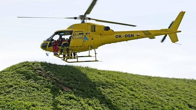 Na Helicopter show se představí také vrtulník záchranných složek.