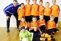 Předměřice nad Labem - fotbalová mladší přípravka.