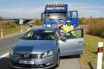 Dopravně bezpečnostní akce policistů na dálnici D11.