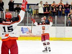Hokejová extraliga staršího dorostu - osmifinále play off: Mountfield HK - HC Sparta Praha.