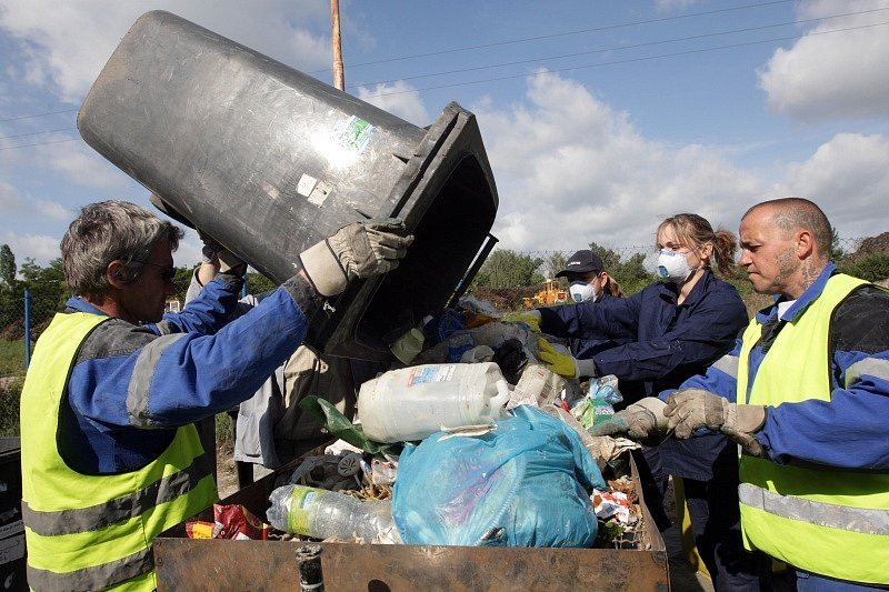 Překladiště komunálního odpadu v královéhradeckém Temešváru