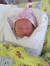 SOFIE ZAHÁLKOVÁ se narodila 19. února v 10.40 hodin. Měřila 49 cm a vážila 3410 g. Svým příchodem na svět udělala radost rodičům Elišce a Martinovi Zahálkovým a také sestrám Anně a Emě z Hněvčevsi.