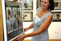 Nejcennější díla výstavy pocházejí z Komárkovy rané tvorby.