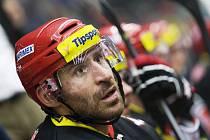 Tipsport extraliga ledního hokeje: Mountfield HK - HC Sparta Praha.