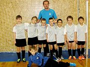 Halový fotbalový turnaj mladších přípravek ve Vysoké nad Labem - TJ Sokol Třebeš.