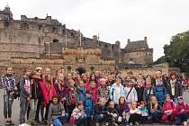 Žáci královéhradecké ZŠ Pouchov ve Skotsku.