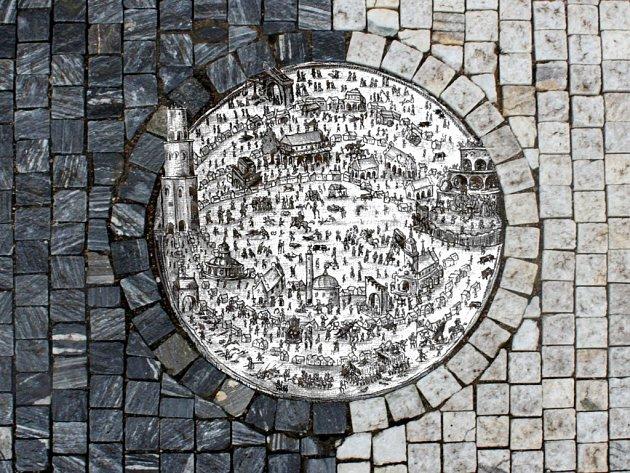 Labyrint světa a ráj srdce - ústřední motiv interaktivního projektu divadla.